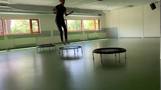 Trampoline springen differentiatie 2