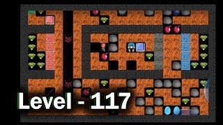 Diamond mine level 117 collected all 30 diamonds