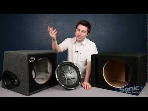 Comparing Subwoofer Boxes: Manufacturer & Prefab Enclosures