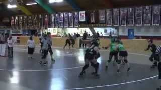 preview picture of video 'Glass City Rollers vs. Royal City Studebreakers 08-16-14'