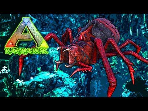 ARK | ICE CAVE GIANT WORM! | NEW DLC RAGNAROK - MadMorph - Video