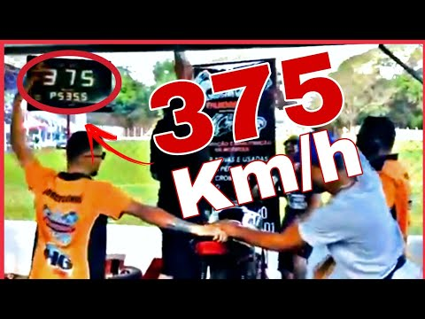 MOTOS PREPARADAS🚀 NO DINAMÔMETRO CHEGANDO ATÉ 375 KM/h