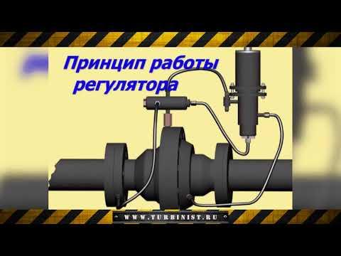 Регулятор давления газа типа РДУ