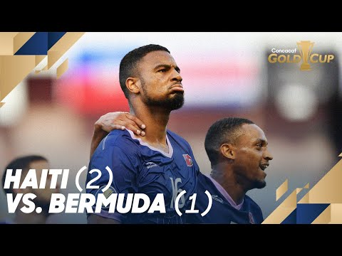 Haiti (2) vs. Bermuda (1) - Gold Cup 2019