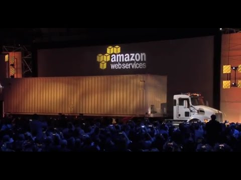AWS re:Invent 2016: Move Exabyte-Scale Data Sets with AWS Snowmobile
