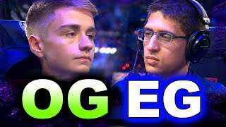 EG vs OG - NOTAIL vs FLY EPIC GAME! - TI9 THE INTERNATIONAL 2019 DOTA 2