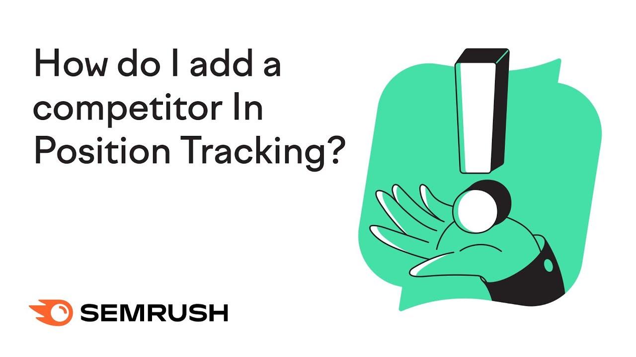 How do I add a competitor in Position Tracking? image 1