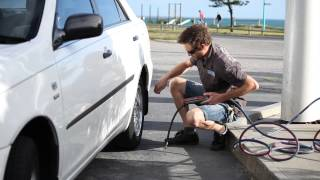 How to Check your Tire Pressure and tread wear