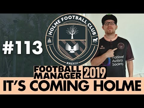 HOLME FC FM19 | Part 113 | STADIUM PLANS | Football Manager 2019