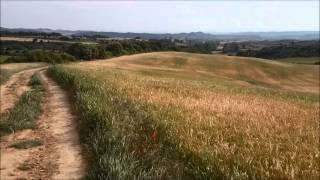 preview picture of video 'Camino de Santiago Francés  Pamplona Cirauqui'
