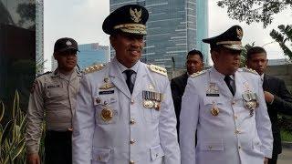 Kedatangan Gubernur Wakil Gubernur Jatim dan Riau ke Kantor KPK