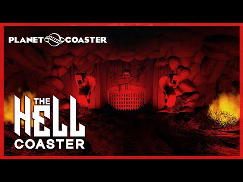 THE HELL COASTER: Planet Coaster Creations - Dark Ride #PlanetCoaster