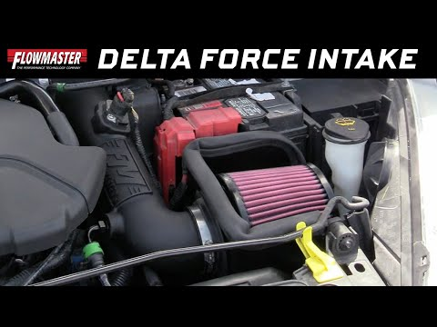 Flowmaster Delta Force Performance Air Intake 2014-2016 Ford Fiesta ST 1.6L EcoBoost - Part #615173