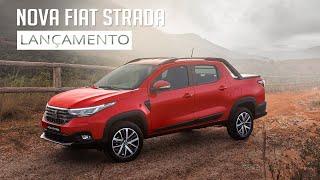 Nova Fiat Strada - Lançamento