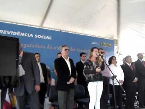 Inauguração da agencia do INSS em Anagé