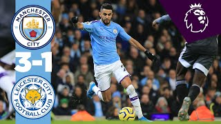 MANCHESTER CITY 3-1 LEICESTER | HIGHLIGHTS & DE BRUYNE REACTION