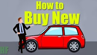 Buying a New Car from a Dealer (The Right Way)