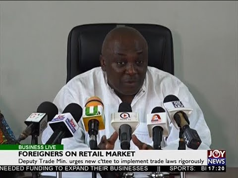 Foreigners on Retail Market - Business Live on JoyNews (14-5-18)