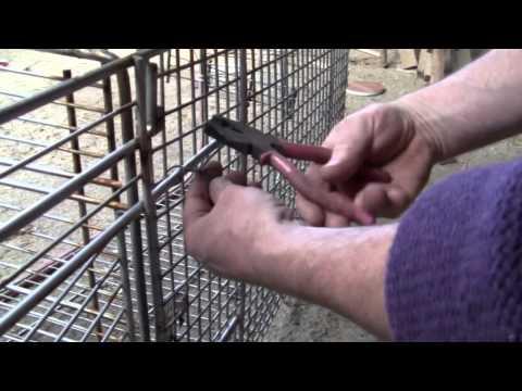 Wie man eine Fuchsfalle aus einem Einkaufswagen baut - und ein erster Fang