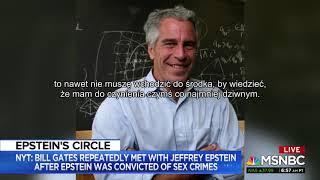 BM NYT: Bill Gates wielokrotnie spotykał się z Jeffreyem Epsteinem [napisy PL]