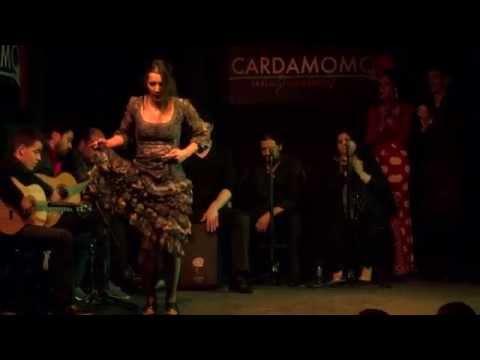 PALOMA FANTOVA en Cardamomo Tablao Flamenco