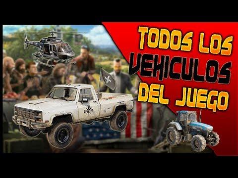 TODOS LOS VEHICULOS DE FAR CRY 5 - Garaje completo