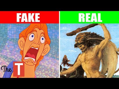 The Disturbing REAL STORY Behind Disney's Hercules