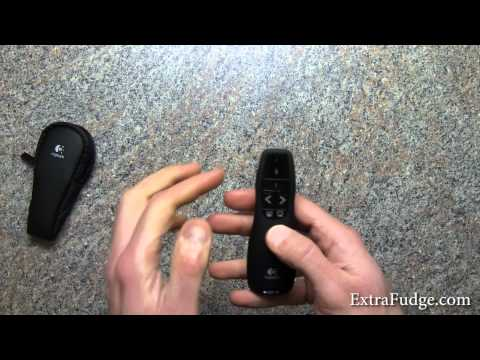 Logitech Wireless Presenter R400 with Red Laser Pointer review