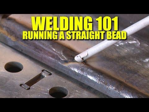 🔥 The First Lesson of Welding - Learn to Run a Straight Bead (Everlast PowerTIG 200DV)