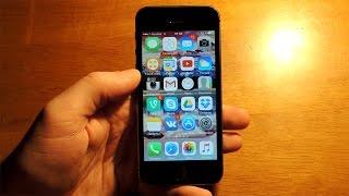 iOS 9.2.1 iPhone 5s  / Обзор iOS 9.2.1 на iPhone 5s