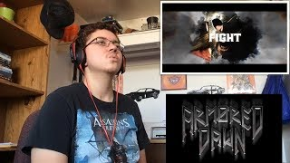 ARMORED DAWN - Chance To Live Again (Official Lyric Video) Reaction!!!