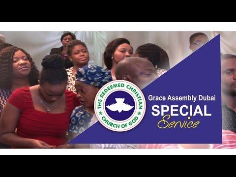 RCCG Grace Assembly Dubai Special Service_ MEGA MERCY