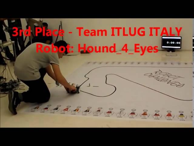 RobotChallenge 2014 | Финальные заезды LEGO Line Follower (ItLUG)