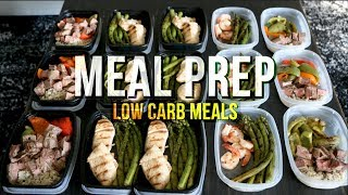 Meal Prep - Low Carb Meals For Me And My Girlfriend - New Recipes
