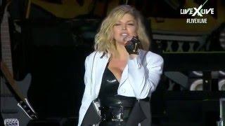 Fergie - Hungry + You Already Know (ft. Nicki Minaj) @ Rock In Rio Lisboa 2016