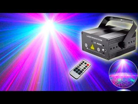 Лазерный RGB проектор ESHINY / ESHINY RGB Laser Projector