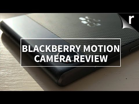 BlackBerry Motion Camera Review: Perfect for dodgy pics?