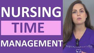 New Nurse Time Management Tips