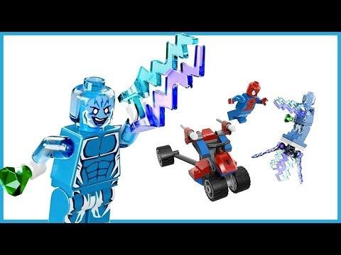 LEGO Super Heros | Spider-Trike vs. Electro Review | 76014 (видео)