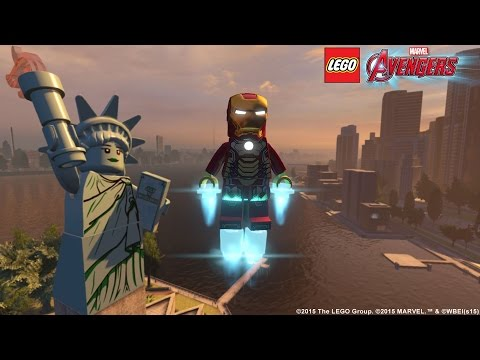 LEGO Marvel's Avengers Open World Trailer | MTW