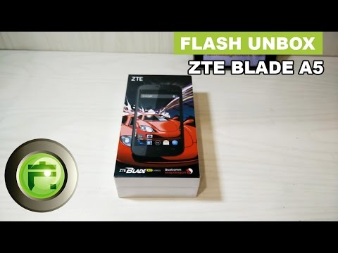 Smartphone ZTE Blade A5 - Unboxing & Review Indonesia - Flash Gadget Store
