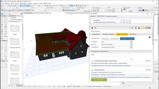 DBD-BIM Plug-in für ARCHICAD - Dachdecker-Fachregeln