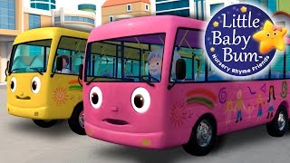 Oops! The pink bus is a bit dirty already, it's time for a wash! See how the brushes clean it and it becomes shiny again!  Download this video now! https://bamazoo.com/p/wheels-on-the-bus-part-8-from-little-baby-bum-official-release-13221  Download LBB videos  https://bamazoo.com/littlebabybum Plush Toys: http://littlebabybum.com/shop/plush-toys/ © El Bebe Productions Limited
