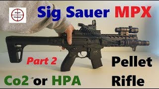 Sig Sauer MPX (Semi Auto) Air Rifle Review (Full Metal M4 Replica) .177 cal Pellet Gun