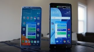 LG G6 vs HTC U Ultra: Little room for debate