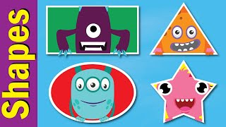 Shapes Song #2 | Learn Shapes in English | Fun Kids English