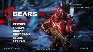 Gears 5 - New Gearsmas items and How To unlock them also Free For All Gameplay.