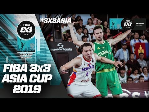 Re-Live - FIBA 3x3 Asia Cup 2019 - Day 3 - Changsha, China