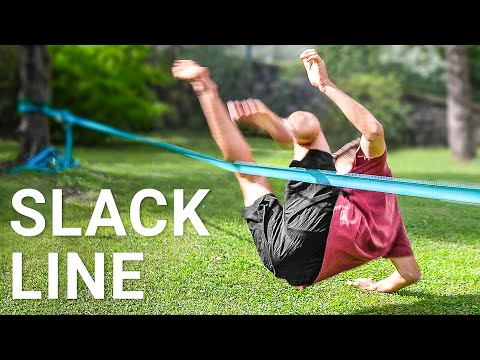 Learning to Slackline with No Experience