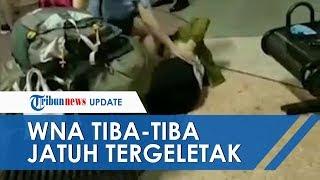POPULER: Viral Video WNA Korsel Tergeletak di Bandara Ngurah Rai hingga Diduga Corona, Ini Faktanya